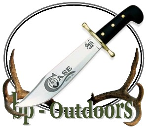 Case XX Bowie Knife Black Handle and Sheath