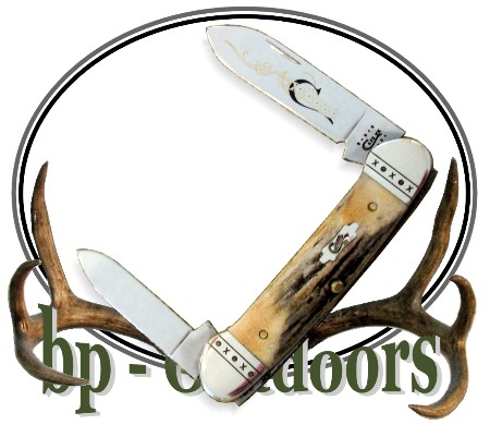 Case XX Pocket Knife Canoe Stag 52131