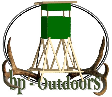 Tower Hunting Blind - Shadow Hunter Elevator 8x8 Blind Brackets are a big advantage!