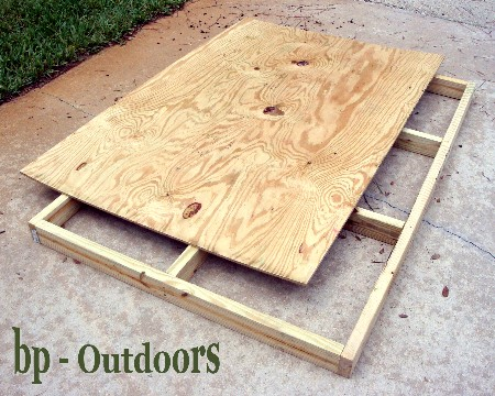 Building a Homemade Deer Stand | Home & Garden Ideas