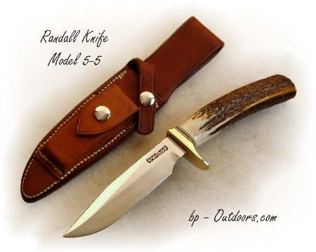 Randall Knives Model 5-5 Camp and Trail Knife