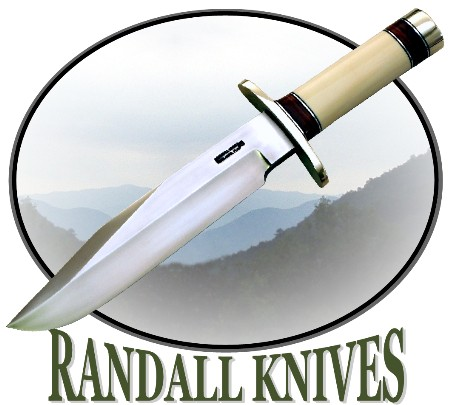 Randall Knife Model 12 Bowie in Ivory