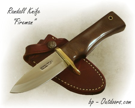 Randall Knife Fireman Special photos and resources for police, firemen, military, tactical, self defense, sporting, outdoorsman and knife collecting.