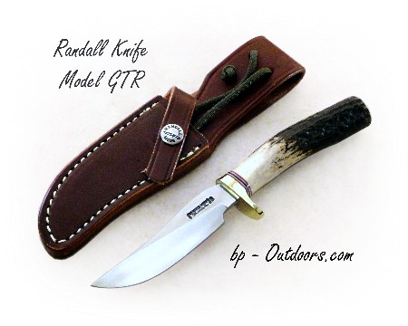 "Randall Knife Model ""GTR"" Stag"