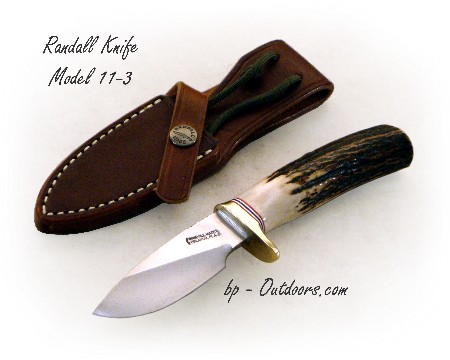 "Randall Knife Model 11-3 ""Alaskan Skinner"""