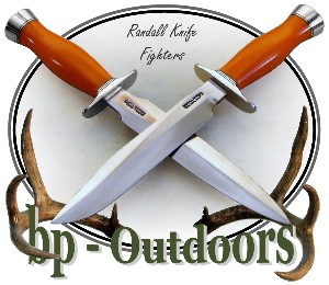 Randall Knife Model 1-8 and Model 2-8 Orange G10 Micarta