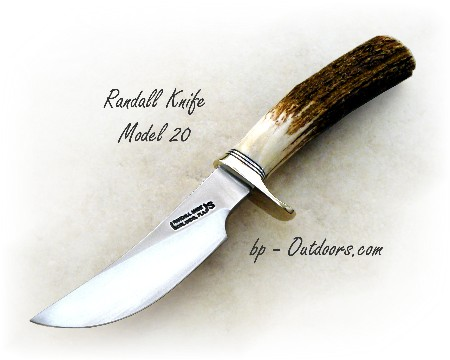 Randall Knife model 20 Stag Handle