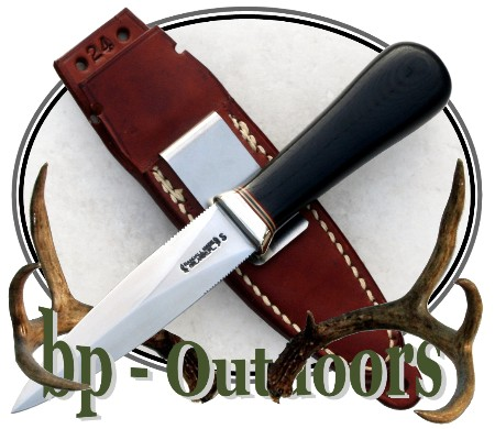 Randall Knife Model 24 Guardian - Black Micarta
