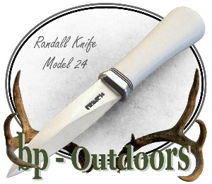Randall Knife Model 24 Guardian - White Micarta