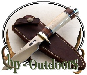 Randall Knife Model 26 Polished Stag Nickel Silver Hilt