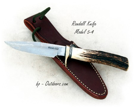 Randall Knives Model 5-4 Camp and Trail Knife