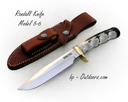 "Randall Knife Model 5-6 ""Camp & Trail"" Stag"
