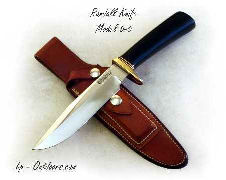 Randall Knives Model 5-6 Camp and Trail Knife