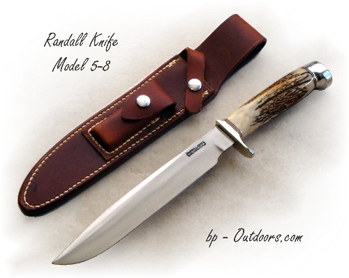 Randall Knife 5-8 Stag