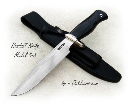 Randall Knives Model 5-8 Camp and Trail Knife