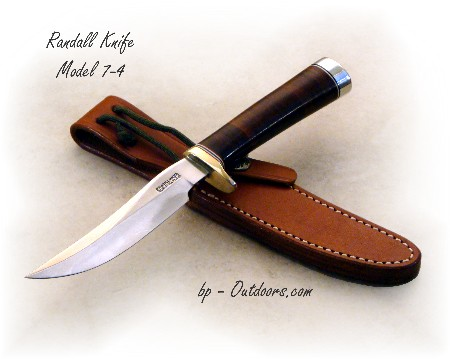 Randall Knife Model 7-4 Leather Handle