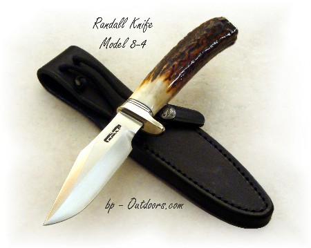 Randall Knife Model 8-4 Trout and Bird