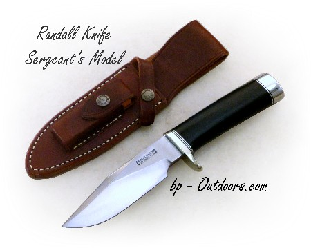 Randall Knife Sergeant's Model