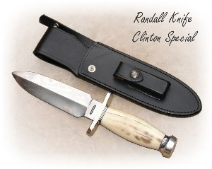Randall Knife Tom Clinton Dealer Special Walrus Ivory
